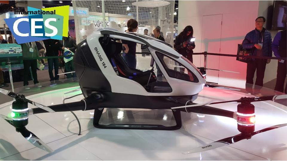 CES Report_Drone_Ehang184